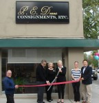 Cesare and Sherry Grossi are joined by Council member Nancy Walsh and Chamber Board members George Maurer and Maddie Romo, Chamber President Ed for ribbon cutting ceremony.  Click to enlarge