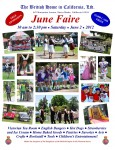 British Home to Host Annual June Faire on Saturday