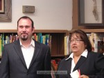 Mayor Josh Moran and City Manager Elaine Aguilar were among the speakers
