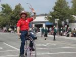 SMFD Firefighter Steve Tuttle of Vintage Cyclery of Sierra Madre