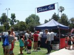Da Kine Shave Ice is a Sierra Madre business, they had a good day