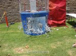 That would be IN the dunk tank