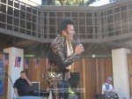 Harry Shahoian takes the stage as Elvis