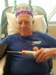 Russ Anderson made his 280th platelet donation for his 80th birthday.  Photo courtesy of the Anderson family