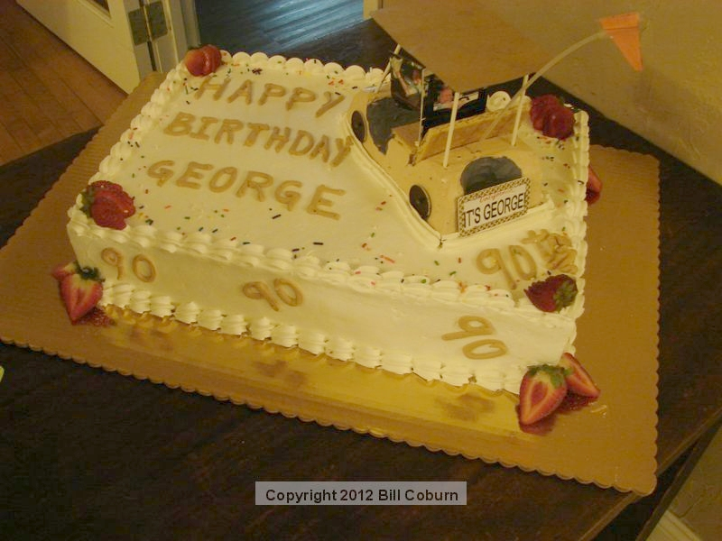Sierra Madre News Net Happy 90th Birthday To George Maurer