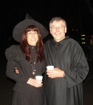 The Parkers on Halloween in 2010