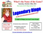 SMRFA Fundraiser Legendary Bingo This Saturday Night