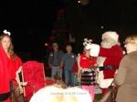 Santa arrives downtown