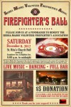 Firefighters' Ball Set for Saturday, Dec. 8th