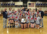 Alverno Varsity Volleyball Celebrates First CIF Championship Title in School History