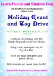 Ixora Floral Studio and Shabby Dog to Host Holiday Toy Collection Event