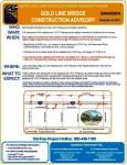 Full Overnight Closure of EB 210 Tonight through Thursday
