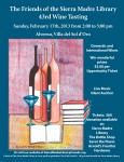 Friends of the Library's 43rd Annual Wine Tasting Tickets On Sale