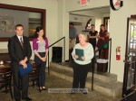 One of Mayor Nancy Walsh's first official duties was to present a proclamation to Ryan Lopez