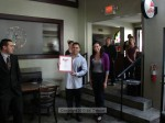 Lopez received proclamations from the offices of State Senator Carol Liu, Congresswoman Judy Chu, Assembly member Chris Holden, and Supervisor Mike Antonovich