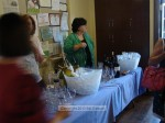 Friends of the Library, pouring up some wine