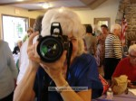 Mary Lou Caldwell takes a picture of me taking a picture of her