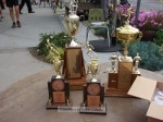 Trophies for the winners