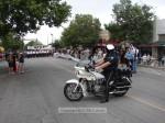 Police escort gets ready