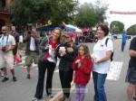 Fun Run ribbon awarders