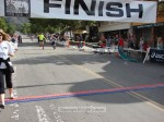 Marc Trotoux, Los Angeles CA, 1:18:04 (yellow top) and bib 313, which is not showing up in race results
