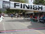 Tim Mosa, Seal Beach CA, 1:32:38 in blue and Scott Nelson, Sierra Madre CA, 1:32:42