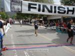 Mauricio Sanchez, Pasadena CA, 1:33:59 in black; Chad Trotter, San Clemente CA, 1:34:02  in blue and  Luke De Kansky, Pasadena CA, 1:34:08 in white