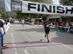 Chad Trotter, San Clemente CA, 1:34:02 in blue and Luke De Kansky, Pasadena CA, 1:34:08 in white