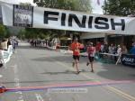 Simon Waters, Altadena CA, 1:44:40 and Susie Nuccio, Evergreen CO, 1:44:38