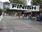 Pete Tsu, Temple City CA, 1:45:57 (white); Stuart Stephens, Sierra Madre CA, 1:45:56 (blue); Julie Hardin, Los Angeles CA, 1:45:59 (skirt); Karen Moran, Sierra Madre CA, 1:45:59 (with the twins)