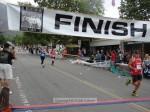 Daniel Rose, Sierra Madre CA, 1:49:49; Christina Lee, Sierra Madre CA, 1:49:45 (blue);  Carrie Chasteen-Elfarra, Pasadena CA, 1:49:46 (red)