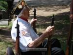 WWII veteran Gordon Caldwell, who served on the USS Saratoga