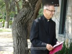 Monsignor Krekelberg delivered the invocation