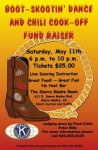Kiwanis to Hold 3rd Annual Boot-Skootin' Dance and Chili Cook-off Saturday