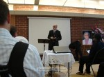 Jim Walden, Pastor at Temple City 1st Baptist Church presided over the service