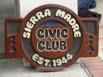 Sponsored by Sierra Madre Civic Club