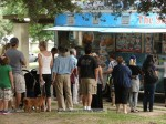 The Surfer Taco truck was quite popular