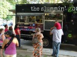 The Slumming Gourmet food truck was on hand.
