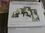 """The family's passport photos from 1920, when they came across the Atlantic on """"The Presidente Wilson"""""""