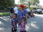 Joan Crow with grandkids