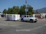 Hey, the truck has to go from Memorial Park to Sierra Vista - why not put it in the parade?