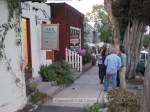 East Montecito had several shops open