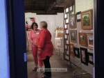 even Ixora Floral Studios was open on a Friday night, and yes, that's the Mayor showing her support for the Art Walk