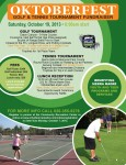 Annual Oktoberfest Golf & Tennis Tournament Fundraiser Saturday, October 19th, Register Now