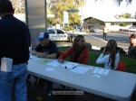 The Sierra Madre Middle School Builders Club assisted Kiwanis, as well