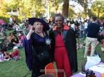 Judges Mayor Nancy Walsh and Kiwanis president Susan Henderson