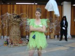 Community Services staffer Kyle Schnurr as Tinker Bell (who pouts, apparently)