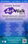Sierra Madre Art Walk (SMArt Walk) This Saturday