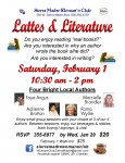 Lattes and Literature at Sierra Madre Woman's Club