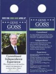 City Council Candidate Gene Goss